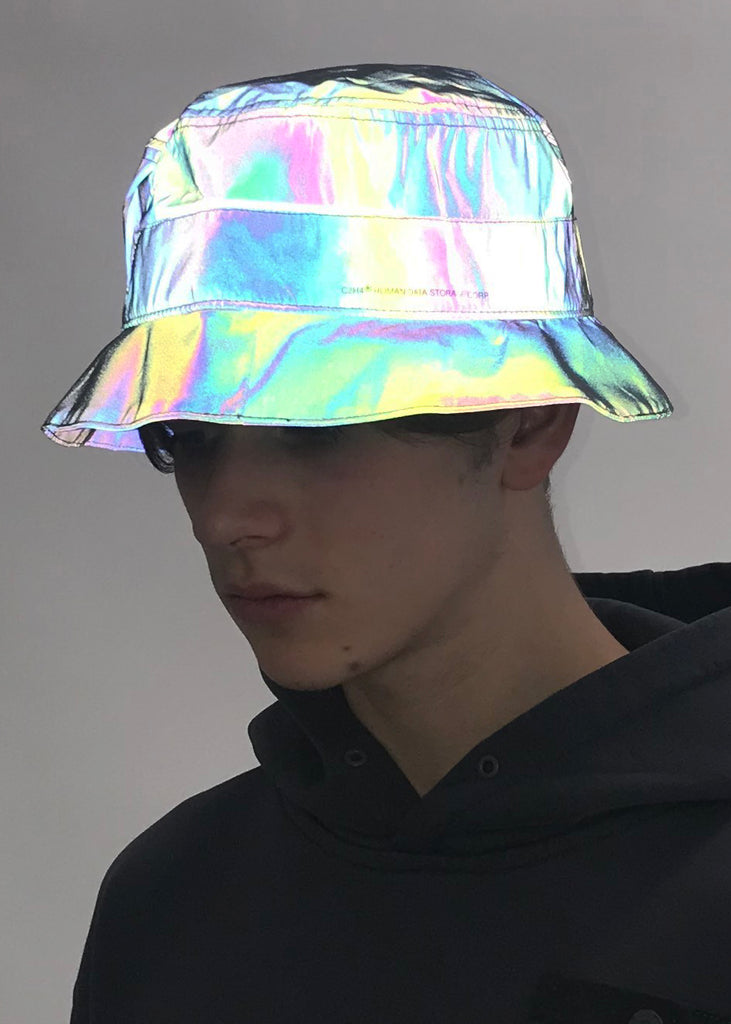 Black 3M Reflective Bucket Hat