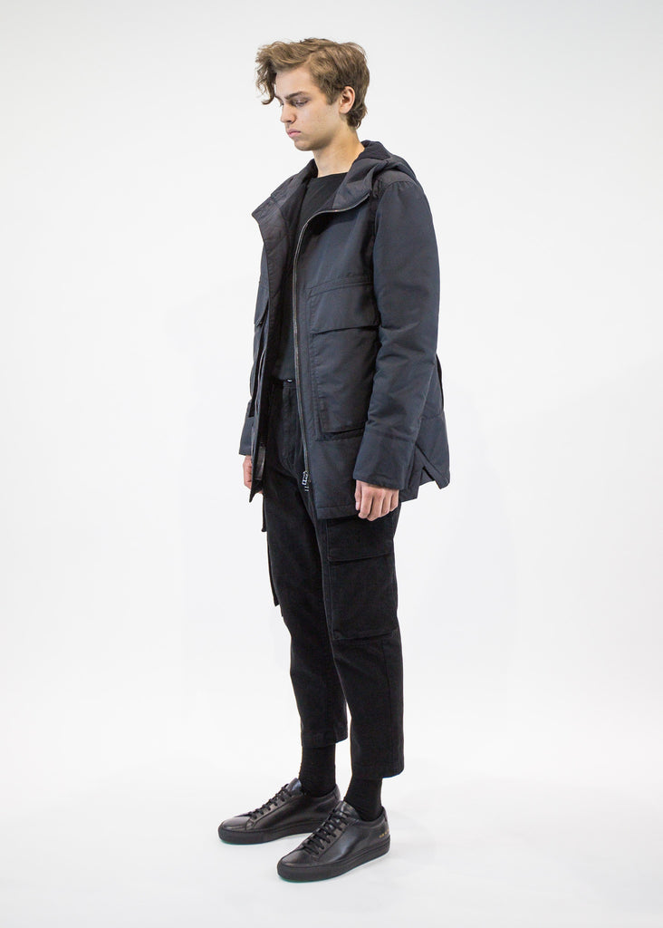 Helmut Lang Men's Short Hooded Parka