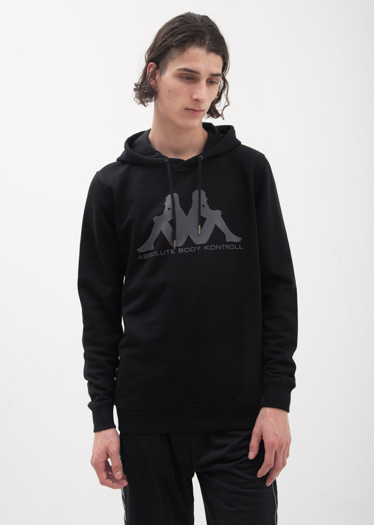 Kappa Kontroll, Black Set In Sleeve Hoodie, 017 Shop