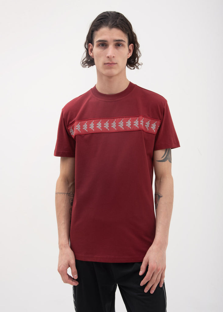 Dark Red Reflective Banda T-Shirt