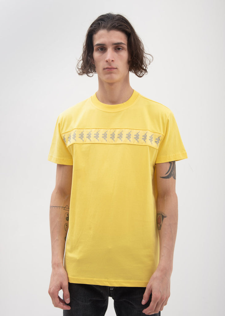 Kappa Kontroll, Yellow Reflective Banda T-Shirt, 017 Shop