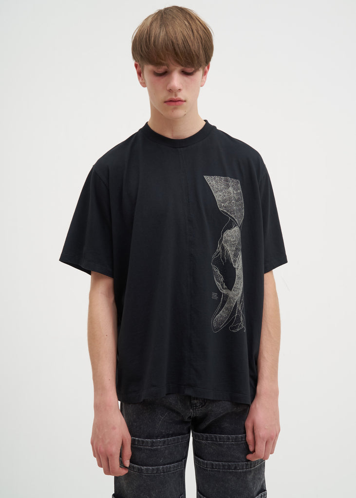 Komakino, Black Calliphoria T-Shirt, 017 Shop
