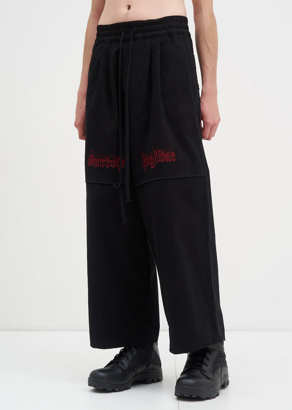Komakino, Black Sarcohagidae Trousers, 017 Shop