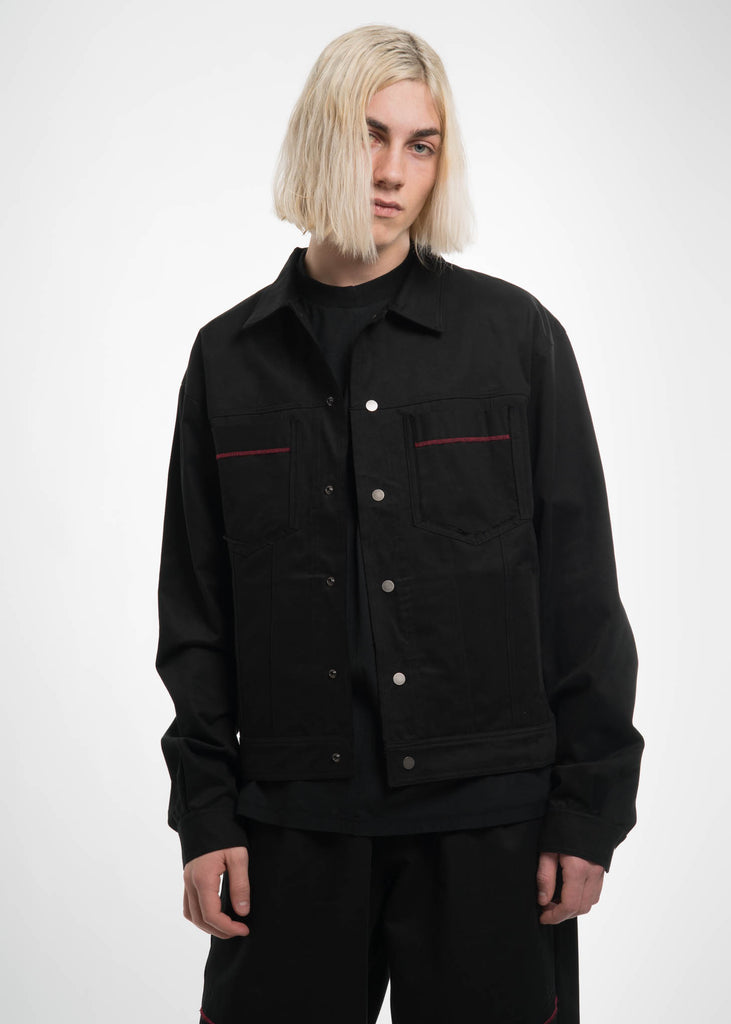 Black Type 2 Split Jacket