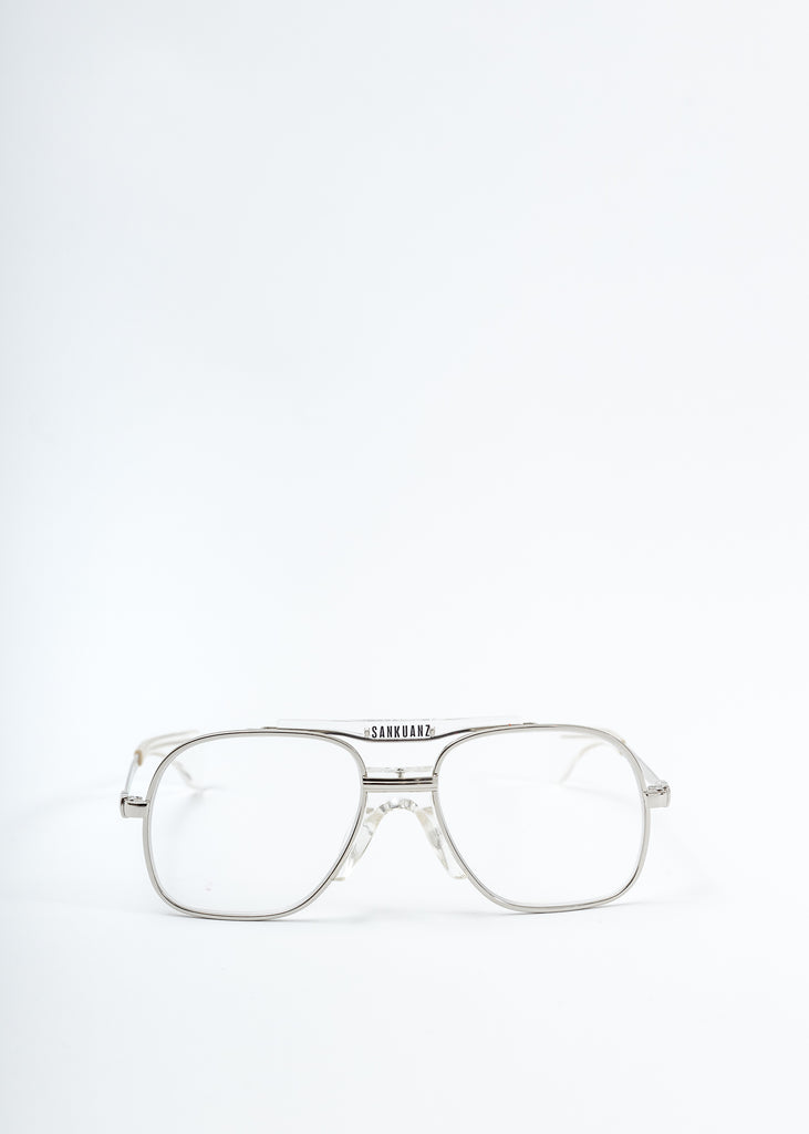 Sliver Aviator Glasses