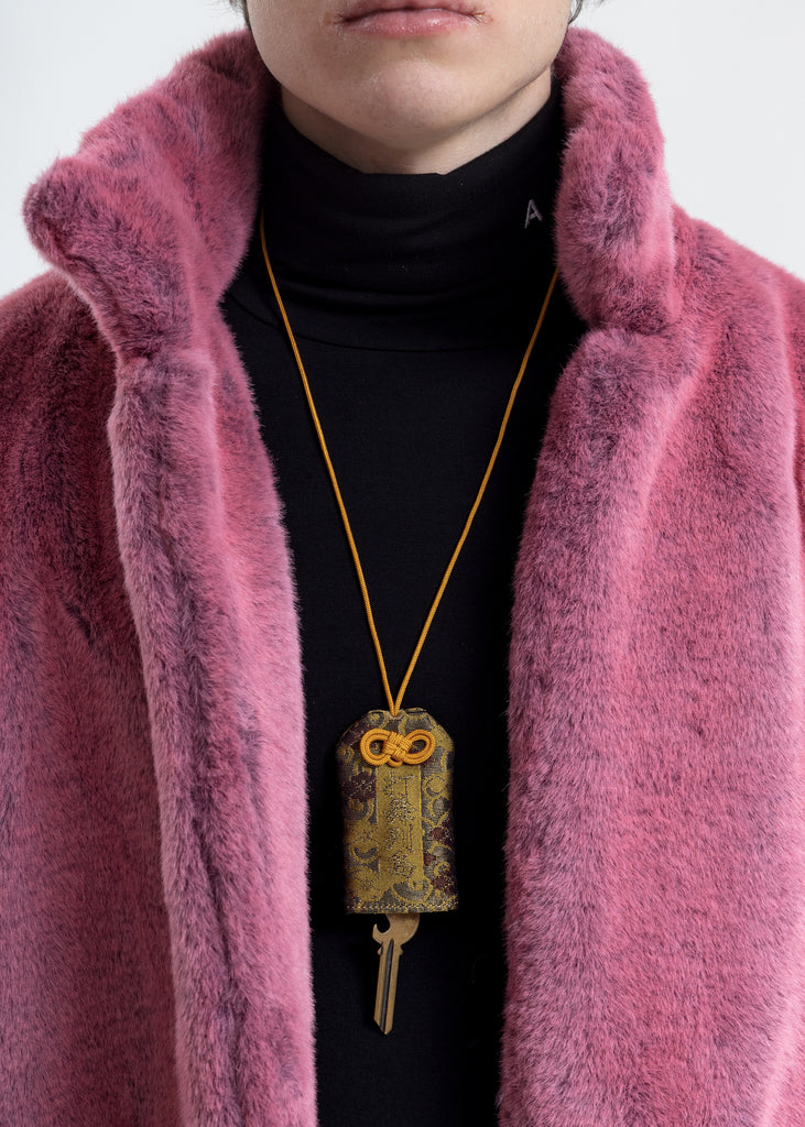 Yellow Omamori Necklace