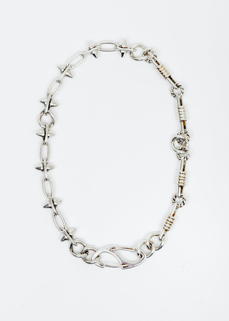 Silver Ranger Spike Chocker