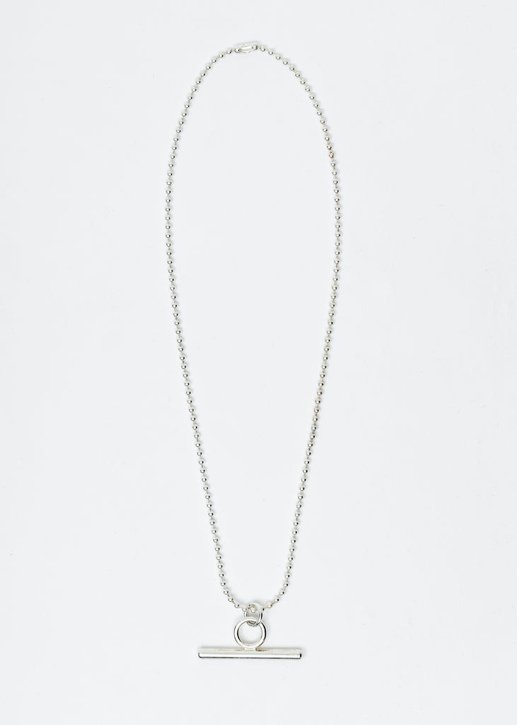 Silver Teddi Toggle Chain
