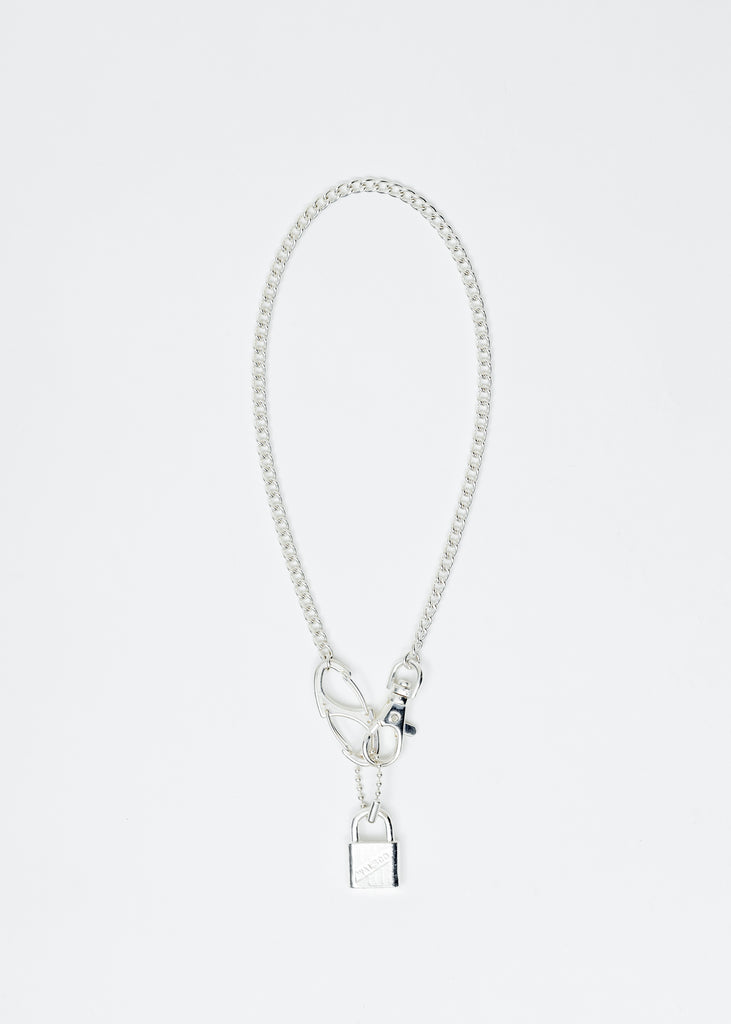 Silver Zal Lock Chocker