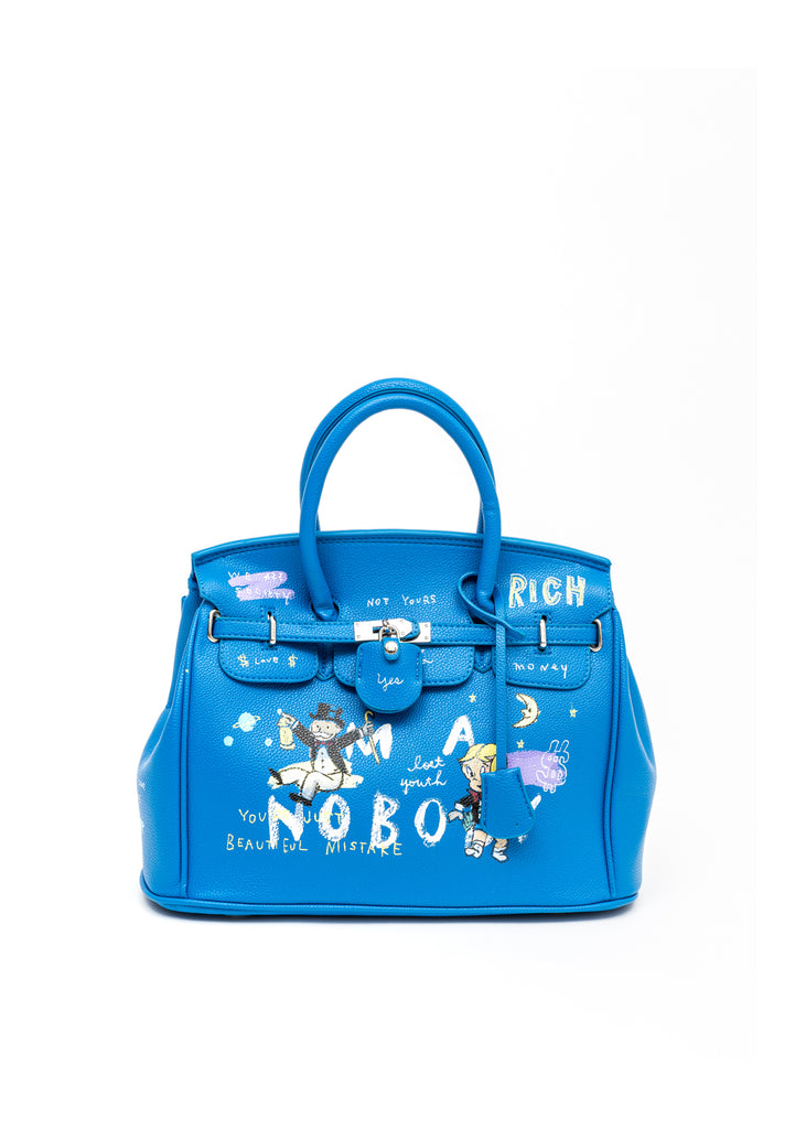 Blue Paint Anarchy Bag -Monopoly,Richie Rich