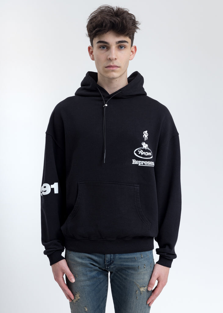 Black Fleece Racing Hoodie