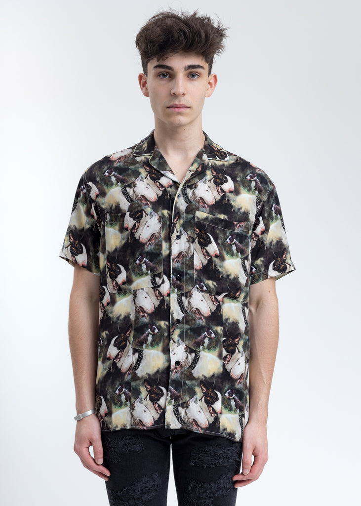 Terrier Camo Short Sleeve Shirt