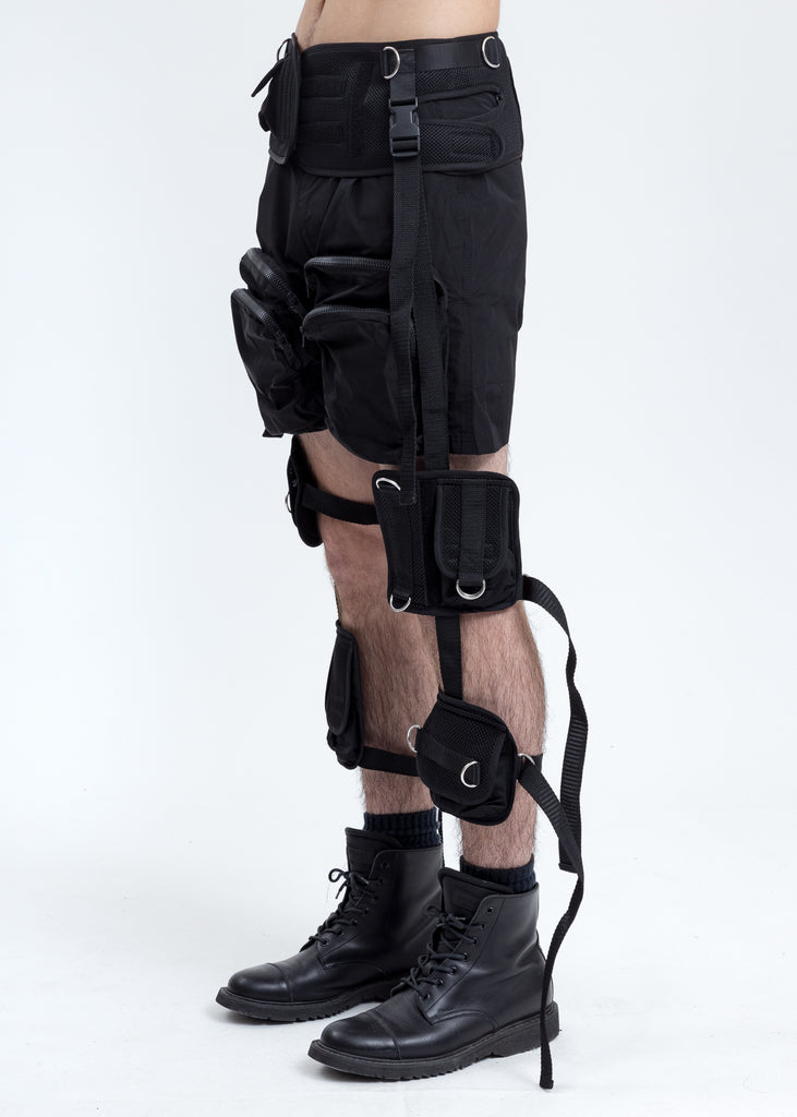Black Tactical Cage Bag