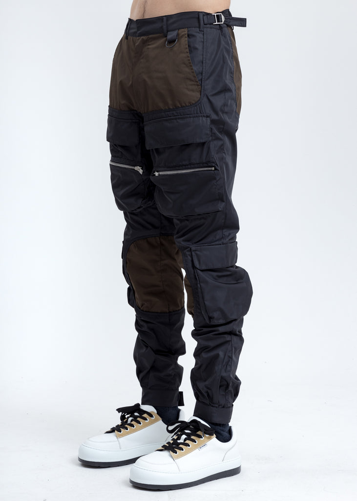 Black And Brown Cargo Pants