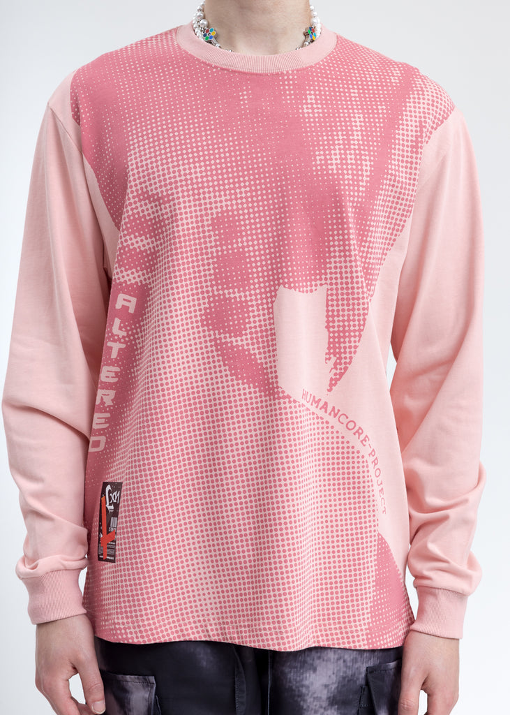 Pink  Human Core Long Sleeve