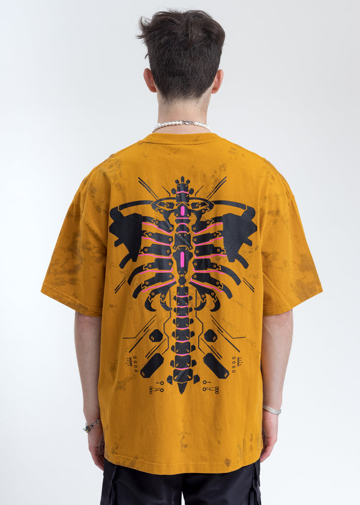 Yellow And Black  Logo T-Shirt