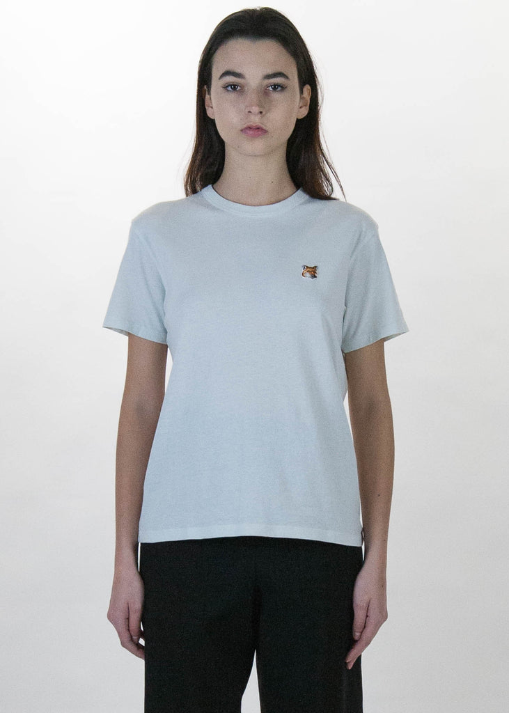 Grey Fox Head Patch T-Shirt