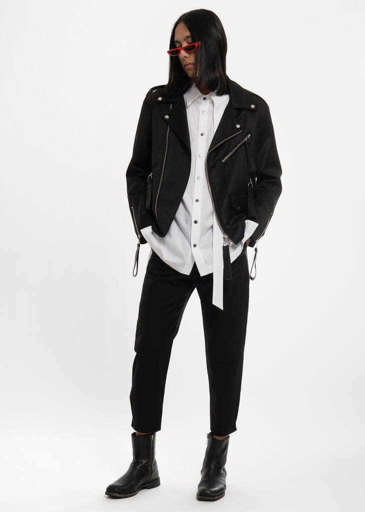 Matthew Miller, Black Marlboro Trousers, 017 Shop