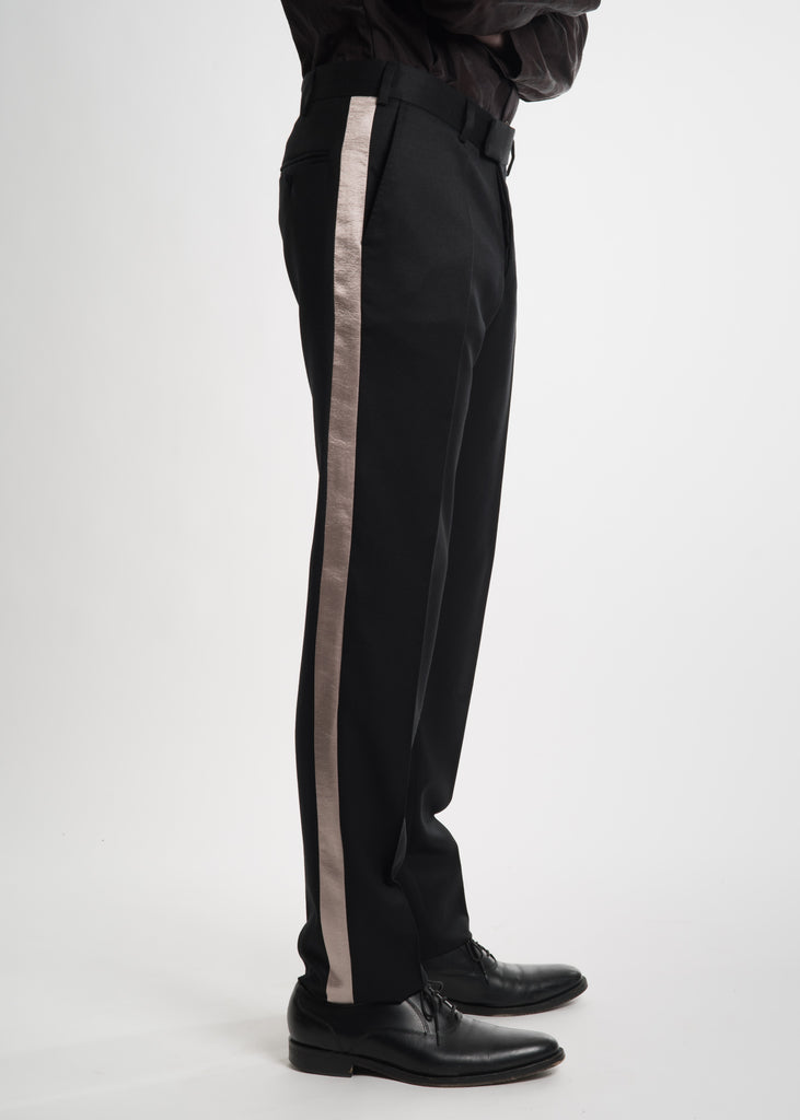 Matthew Miller, Black Tuxedo Trousers, 017 Shop