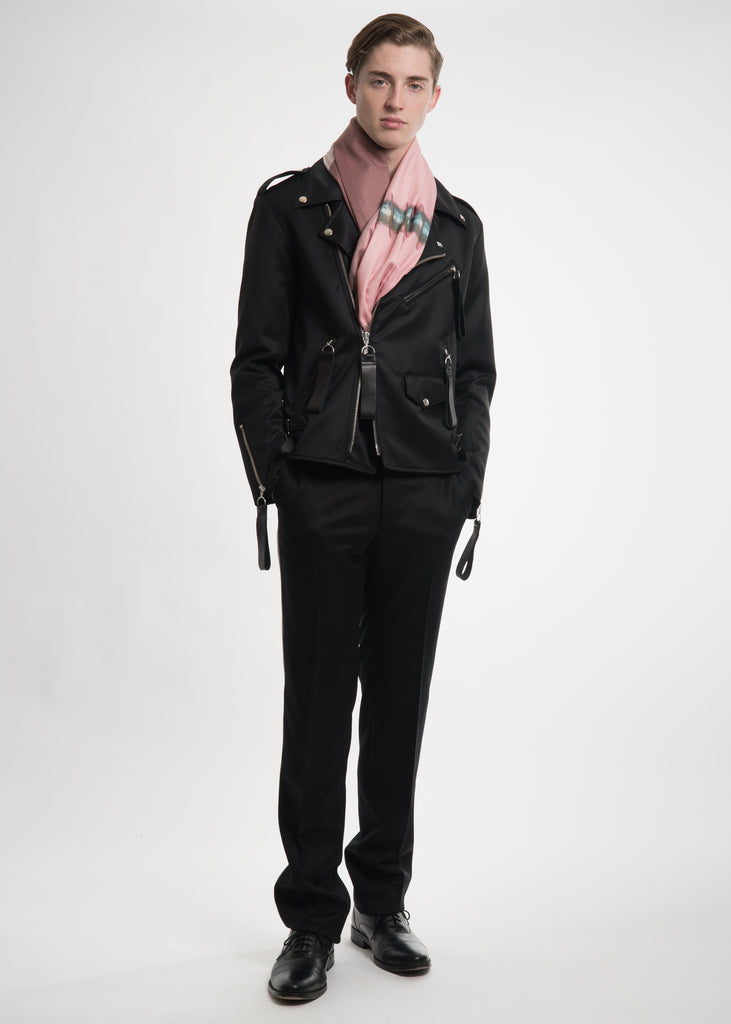 Matthew Miller, Black Tyler Biker Jacket, 017 Shop
