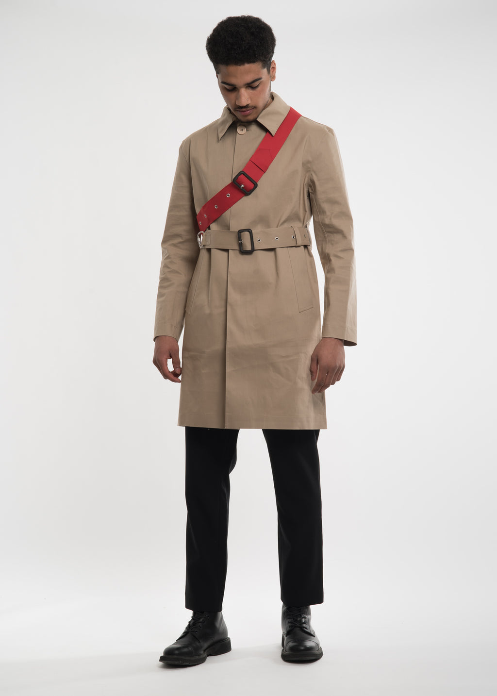 Camel Rane Mac Coat
