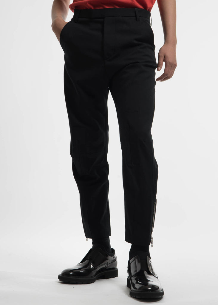 Matthew Miller, Black Marlboro Flight Trouser, 017 Shop