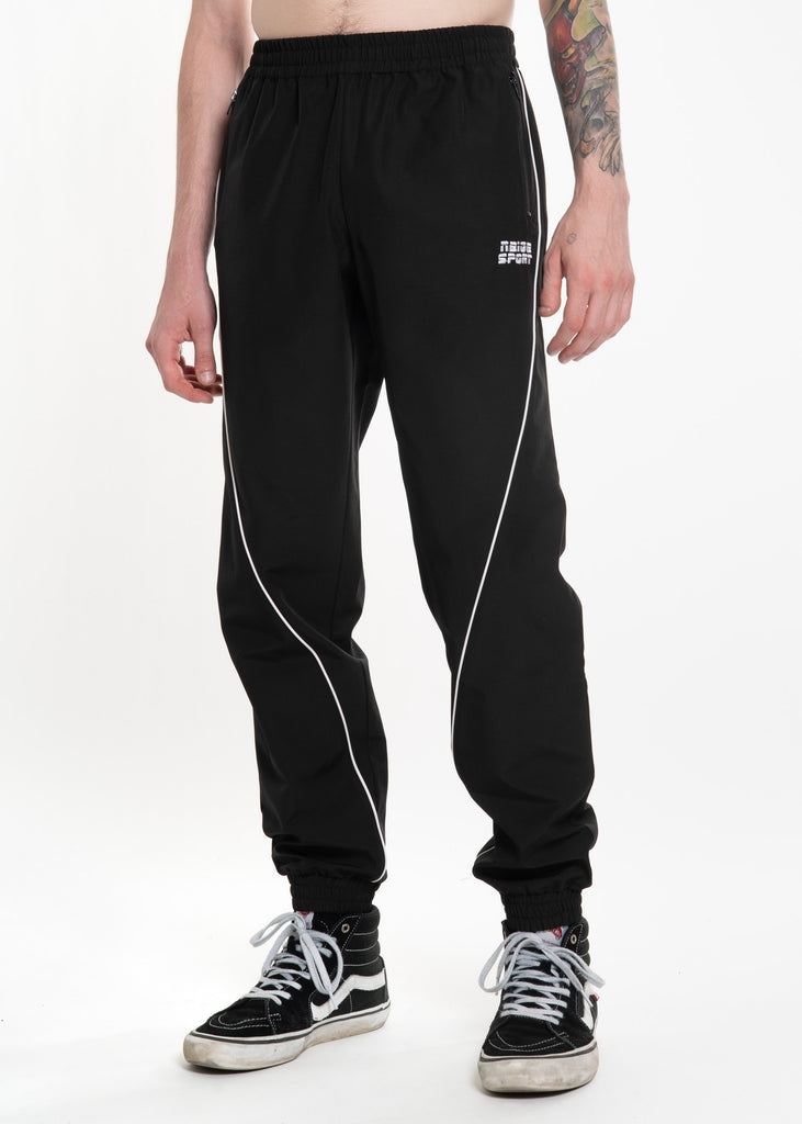 Neige, Black Jogger Pants, 017 Shop