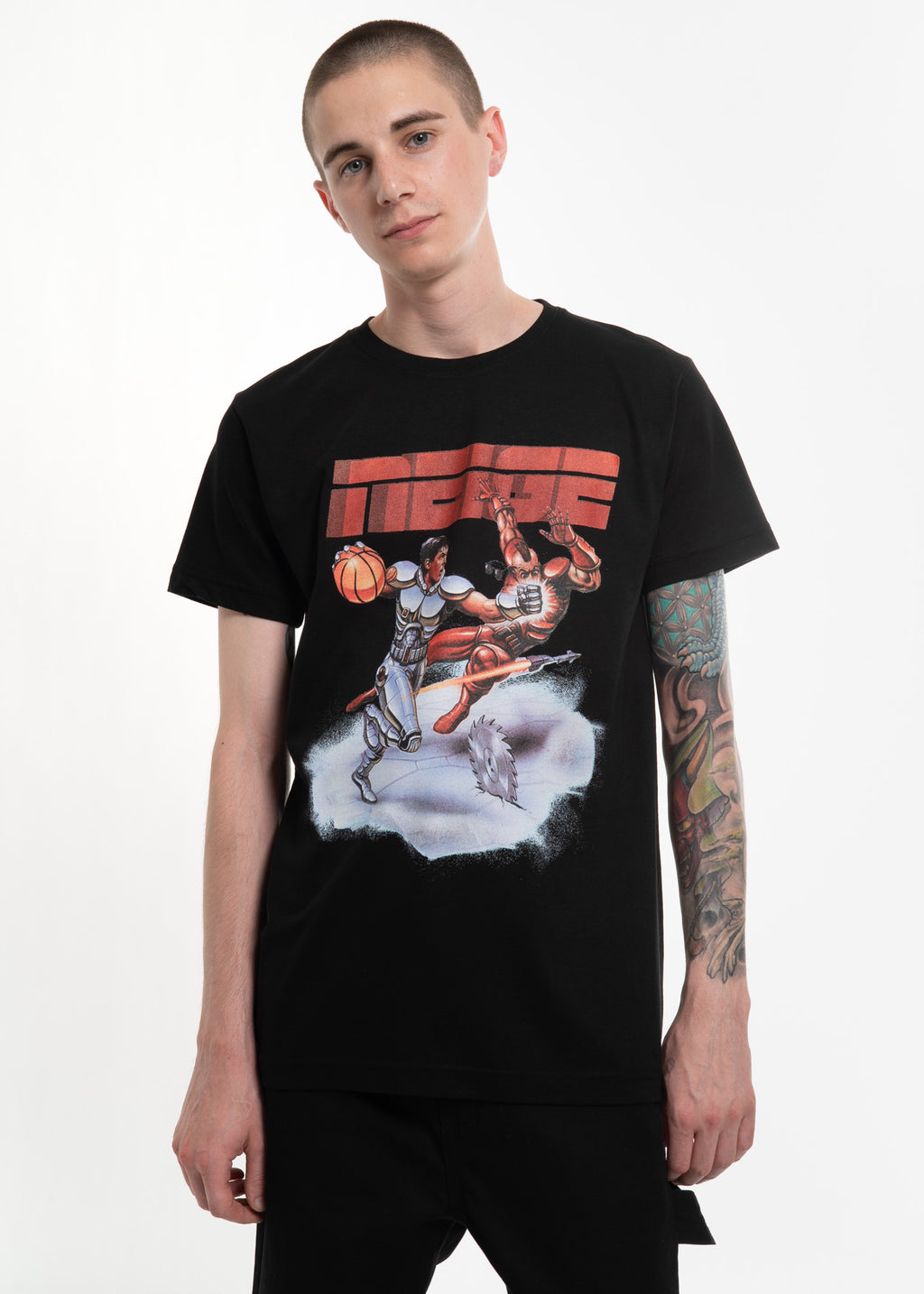 Black Space Basketball T-Shirt