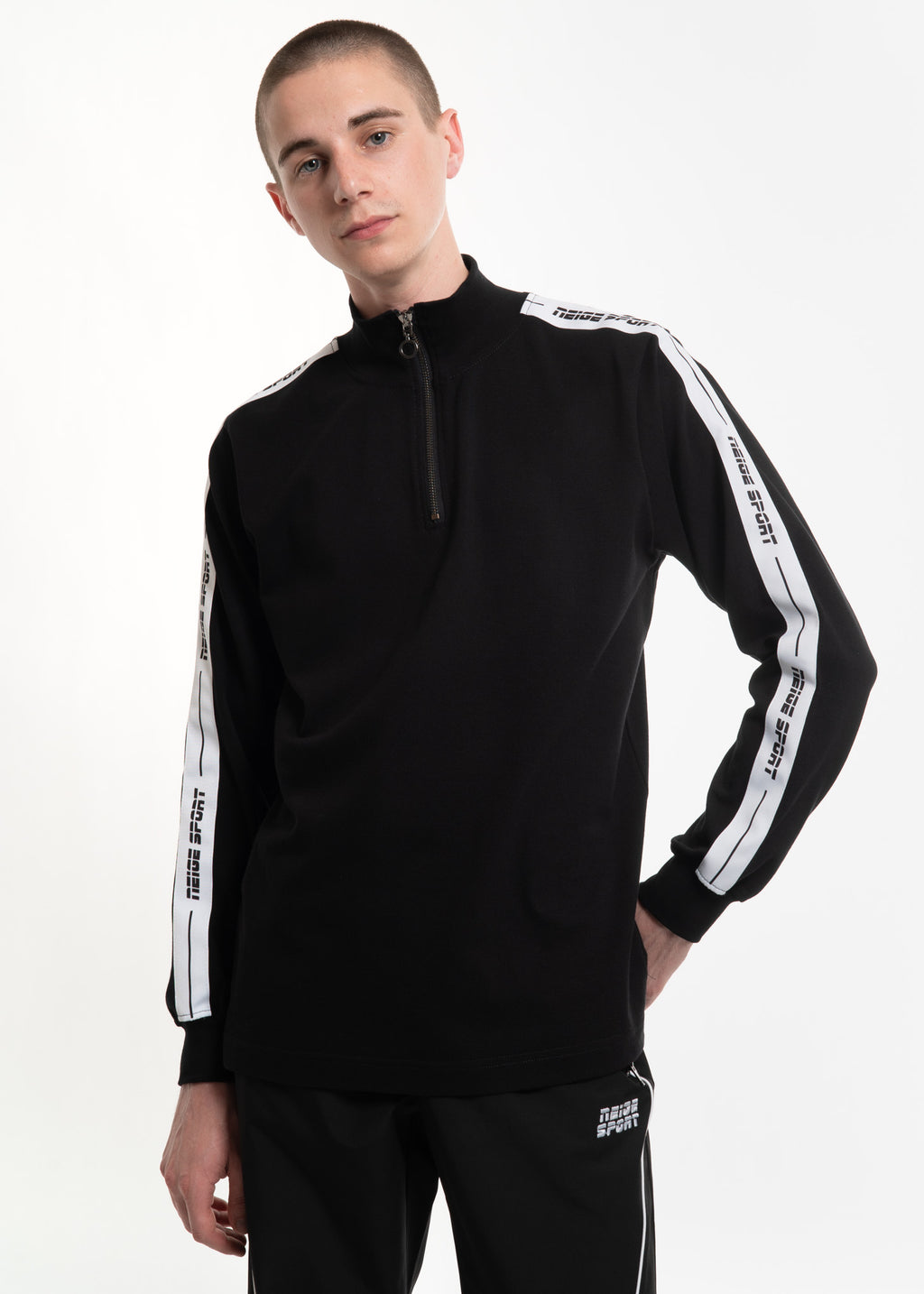 Neige, Black Tape Turtle Neck, 017 Shop