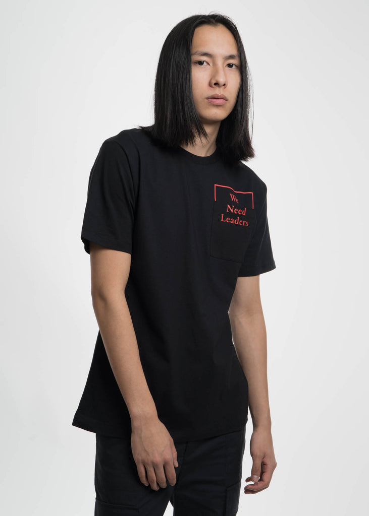 Public School, Black Cooke WNL Print T-Shirt, 017 Shop