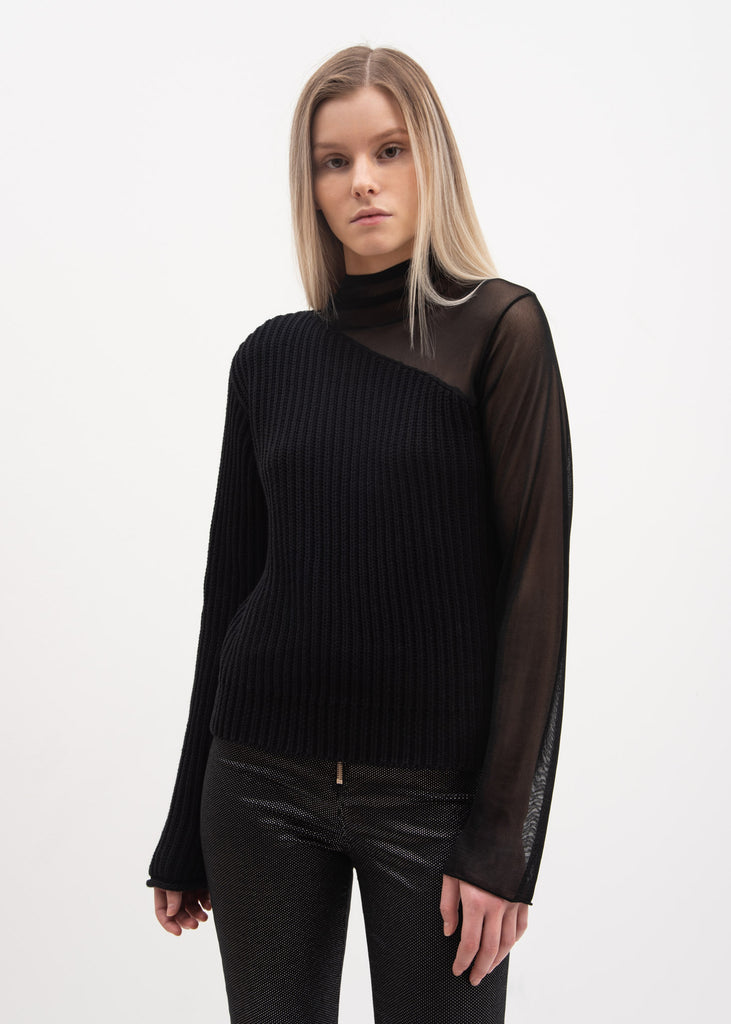 RtA, Black Franny Turtle Neck, 017 Shop