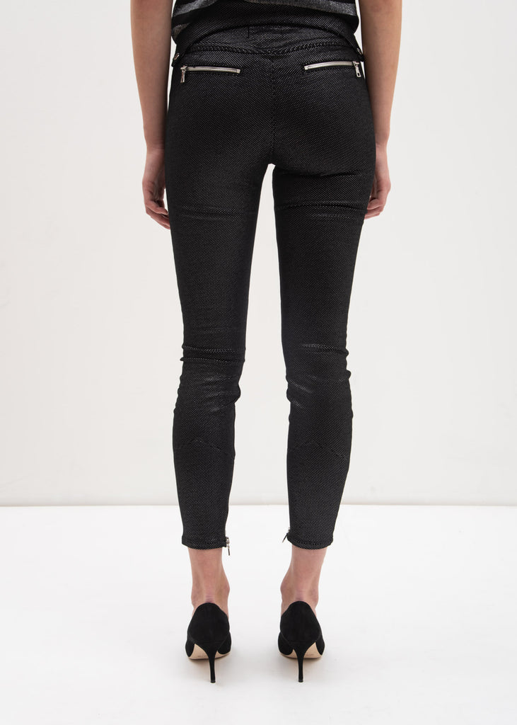 Black Skyline Diavolina Biker Pants