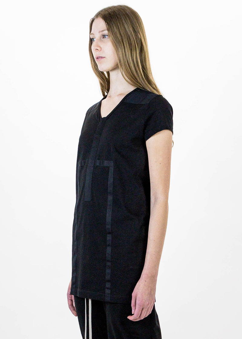 Black Geometric T-Shirt