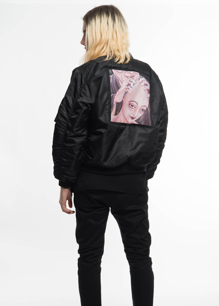 Black Ohta Bomber Jacket