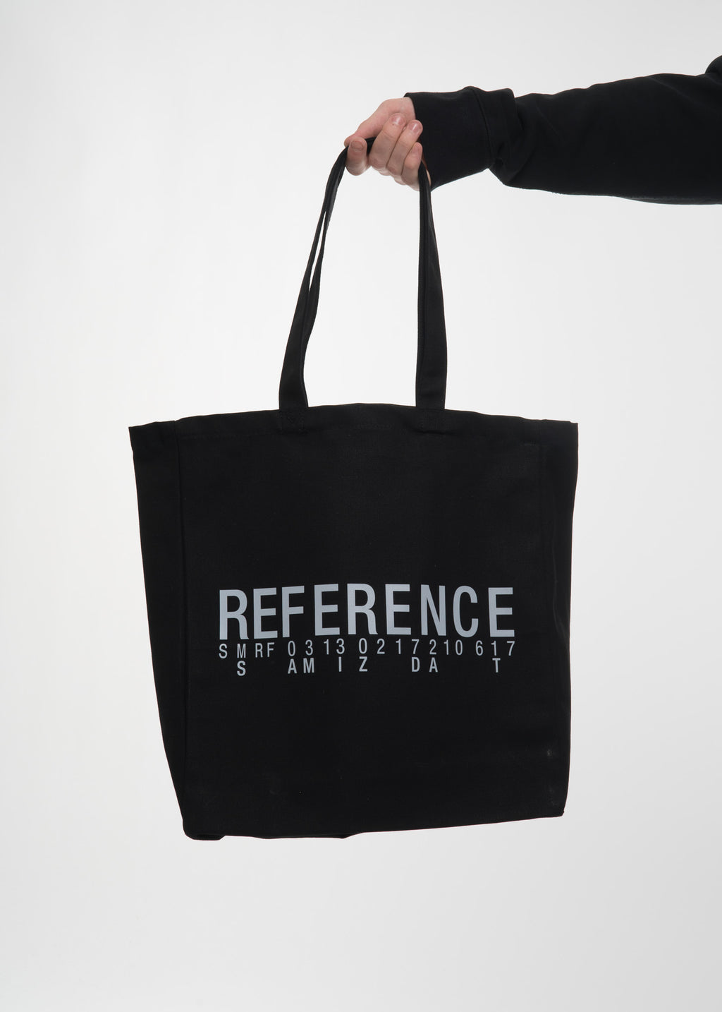Black Reference 3.0 Tote Bag