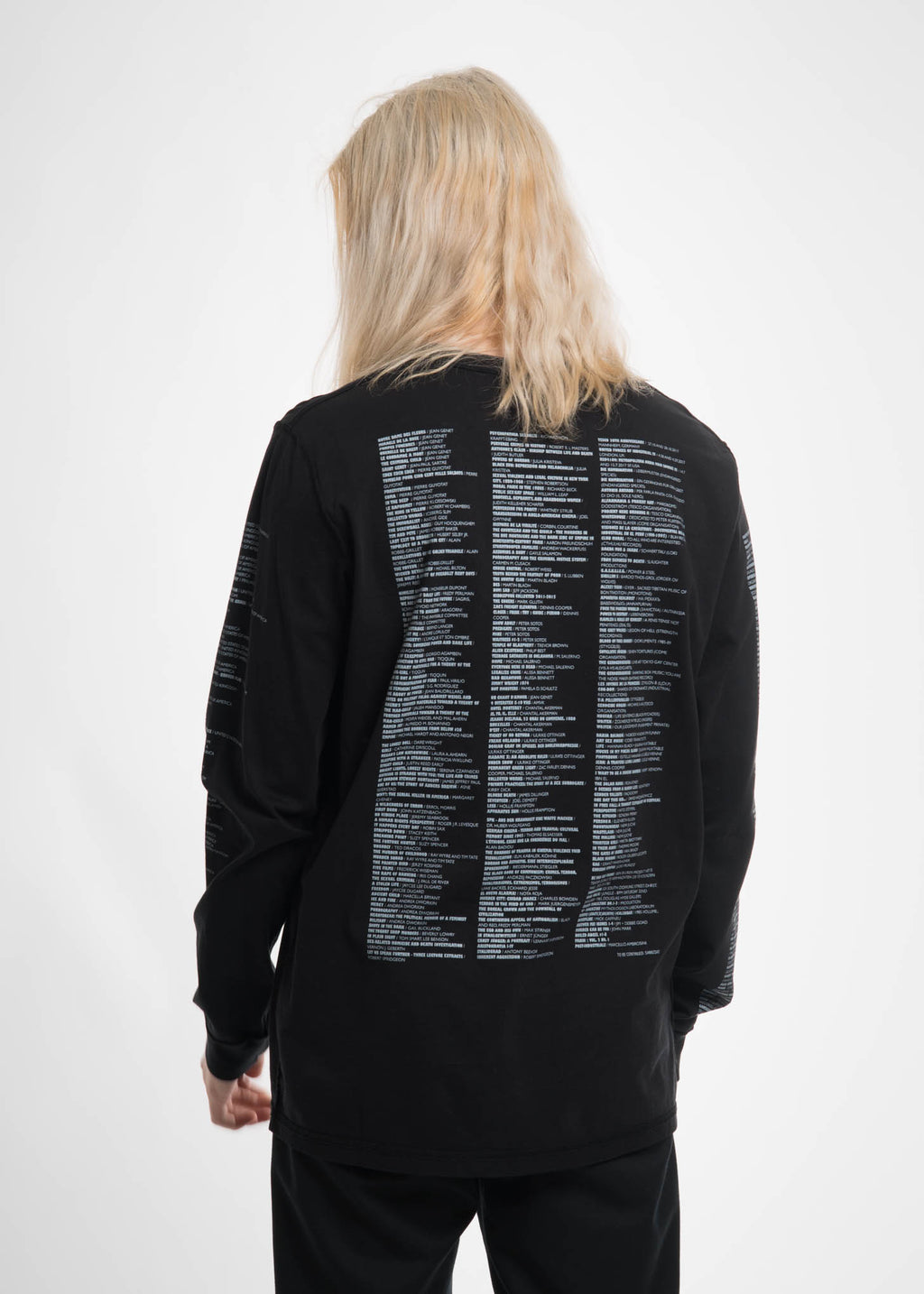 Black Reference LS Shirt