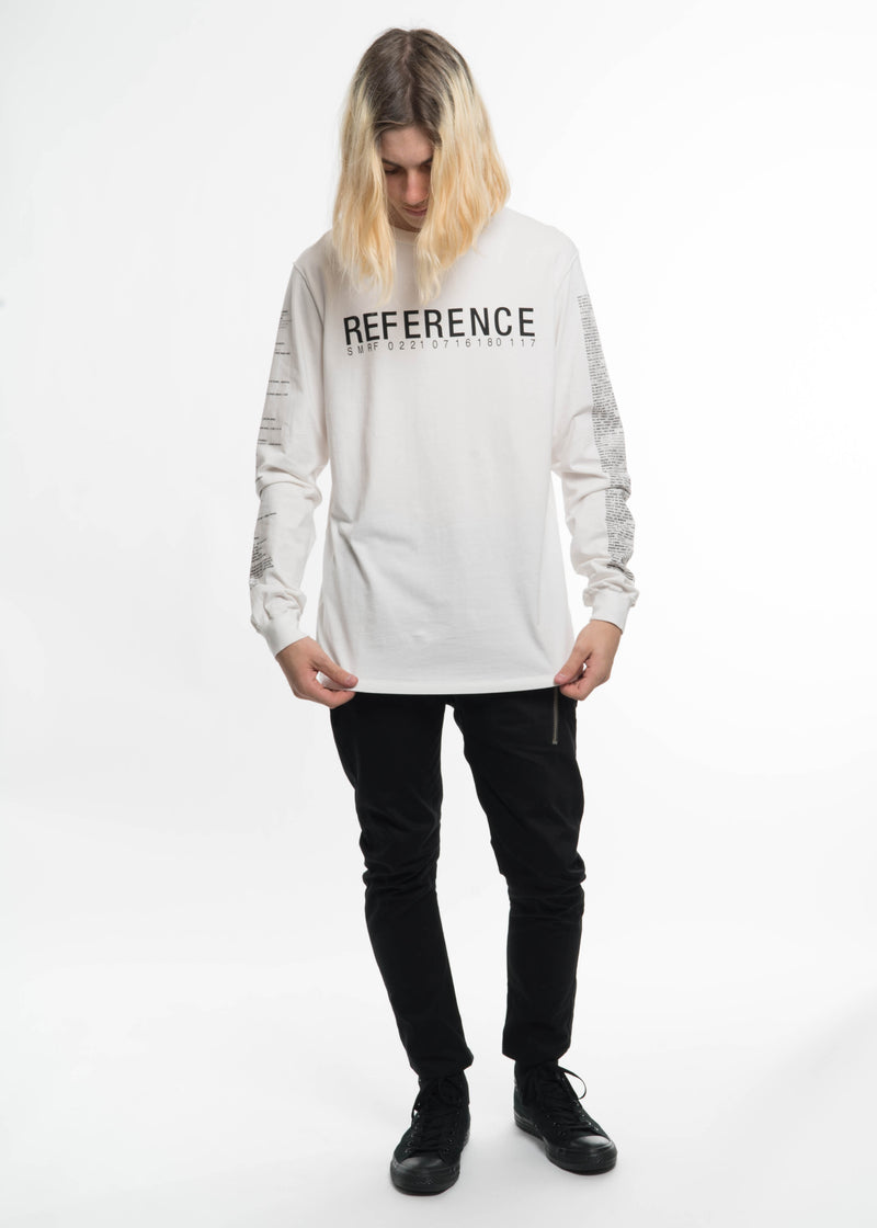 Off White Reference Long Sleeve T-Shirt
