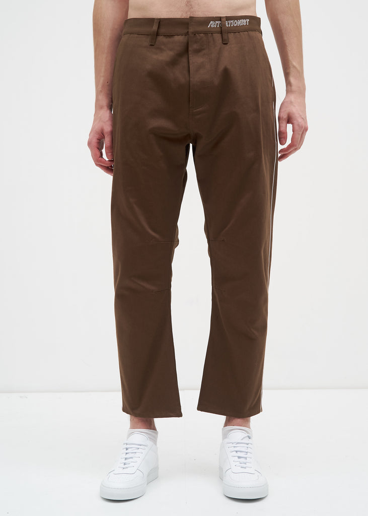 Siki Im, Elk Peg Chino w/ Piping, 017 Shop