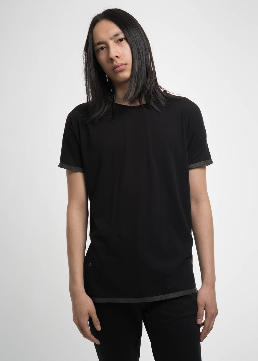 Black Tech Nylon Running T-Shirt