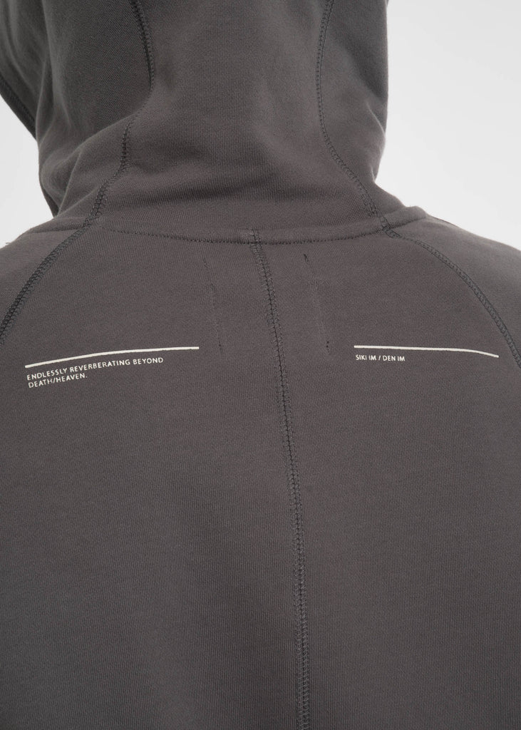 Siki Im, Concrete Side Zip Combo Hoodie, 017 Shop
