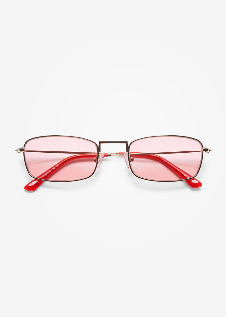 Gold and Twizzlers Red E-40 Sunglasses