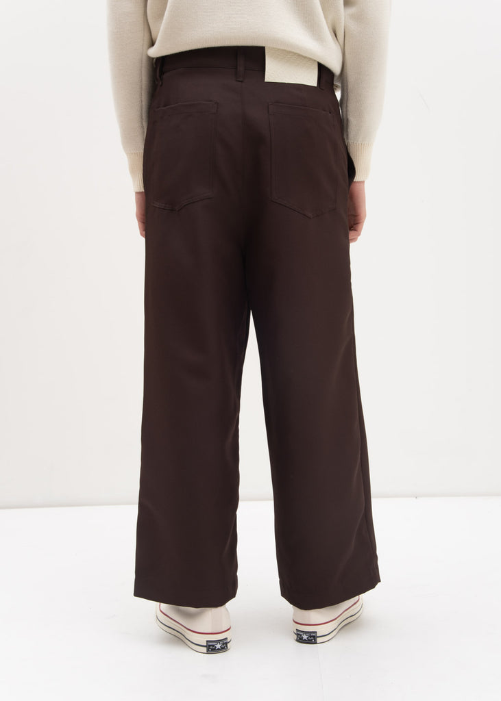 Brown Over Pants