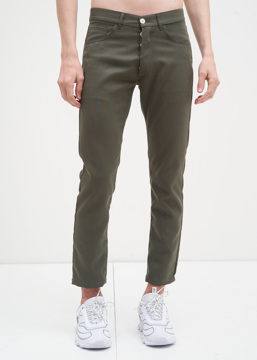 Military Green Skinny Pants