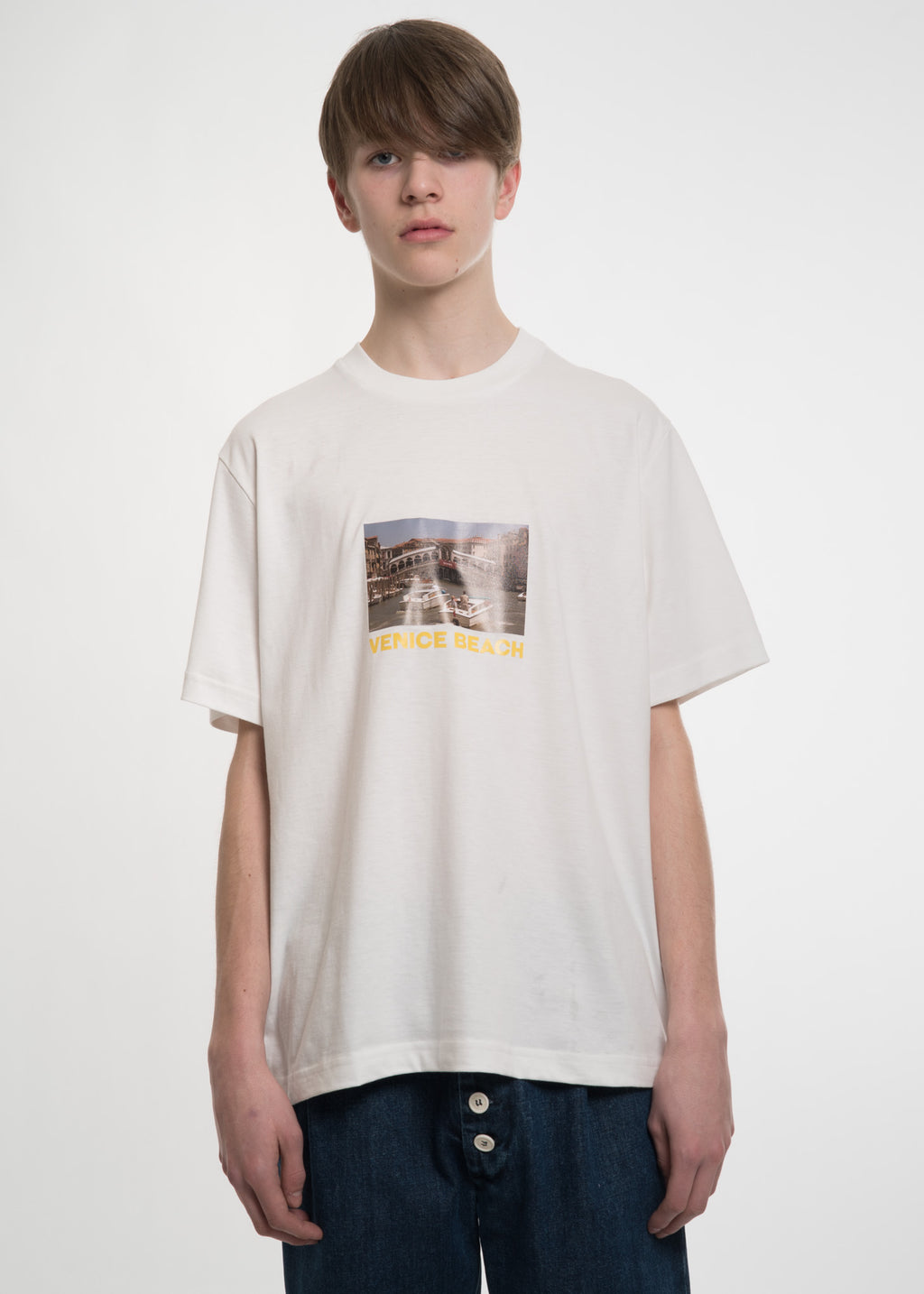 White Venice Beach T-Shirt