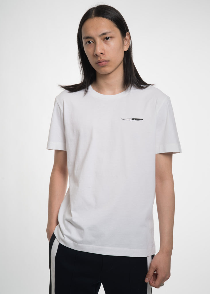 Tim Coppens, White Knives T-Shirt, 017 Shop