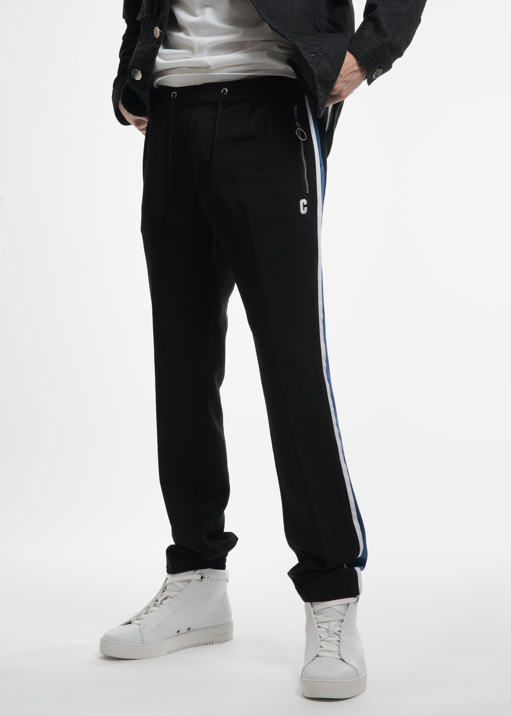 Black Side Stripe Lounge Pant