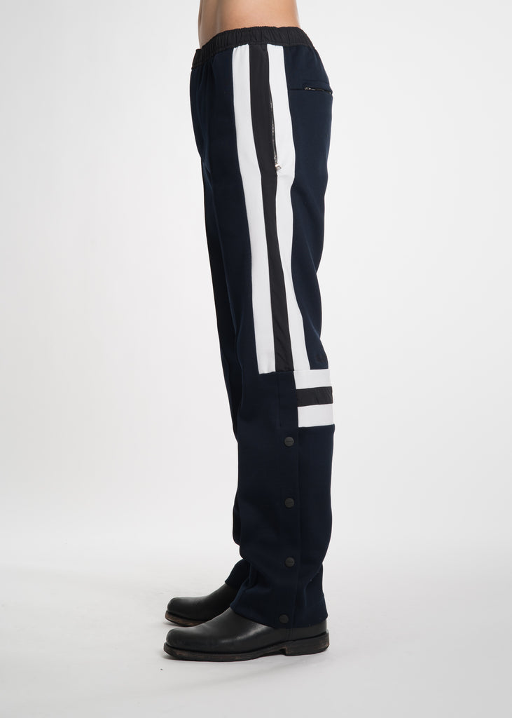 Tim Coppens, Navy Pierced Jogger, 017 Shop
