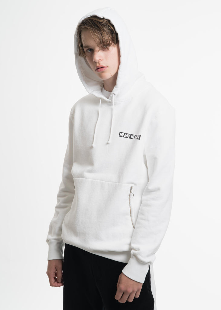 White Explosion Hoodie