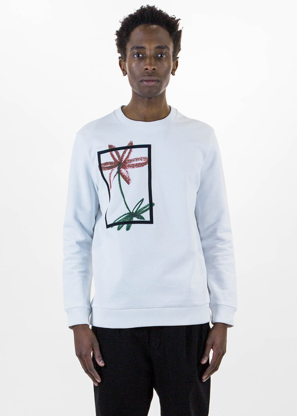 White Simon Sweatshirt