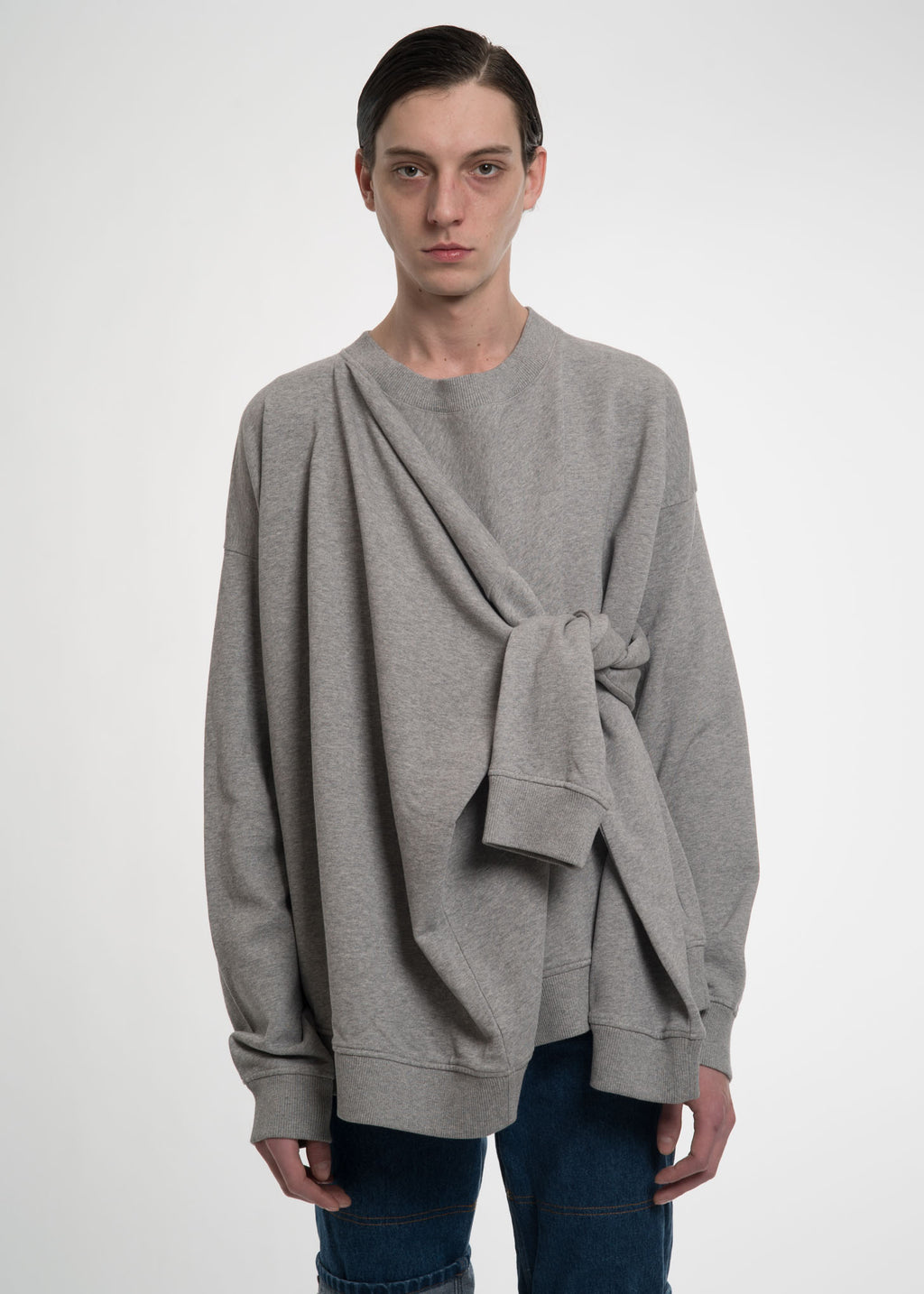 Grey Four Sleeve Sweatshirt